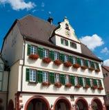 Stuttgart - Weil der Stadt stadhuis dichte omhooggaand Royalty-vrije Stock Afbeeldingen