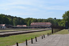 Stutthof-Konzentrationslager Lizenzfreie Stockfotos