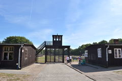 Stutthof nazikoncentrationsläger Arkivfoto