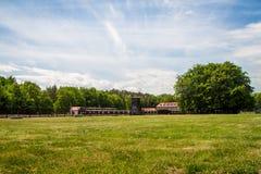 Stutthofconcentratiekamp Polen stock afbeeldingen