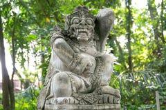 Stutue im heiligen Affe-Wald, Ubud, Bali, Indonesien Lizenzfreie Stockfotografie