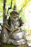 Stutue im heiligen Affe-Wald, Ubud, Bali, Indonesien Lizenzfreie Stockbilder