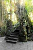 Stutue im heiligen Affe-Wald, Ubud, Bali, Indonesien Lizenzfreies Stockfoto