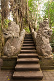 Stutue og dragons in Ubud Stock Image