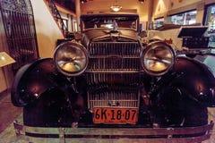 1928 Stutz 8 BB jastrzębia czarny speedster Obrazy Stock