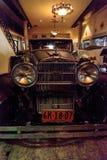 1928 Stutz 8 BB jastrzębia czarny speedster Obrazy Royalty Free