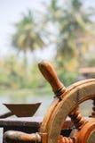 Stuurwiel van een boot Royalty-vrije Stock Afbeelding