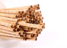 Stuzzicadenti di legno Immagini Stock Libere da Diritti