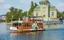 Stvanice Island - Prague - Czech Republic royalty free stock image