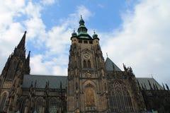 StVita katedra w Praga obraz stock