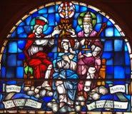 StVitus Kathedrale Stockfotografie