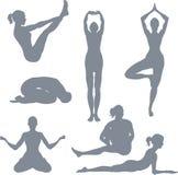 stwarza jogi ilustracji