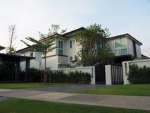 Stwarza ognisko domowe Dla sprzedaży Real Estate Obrazy Royalty Free