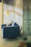 Stwarza ognisko domowe krzesła Obraz Royalty Free