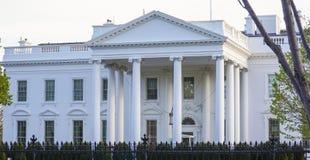 Stwarza ognisko domowe prezydent 7, 2017 - Biały dom w washington dc - washington dc KOLUMBIA, KWIECIEŃ - Obrazy Stock