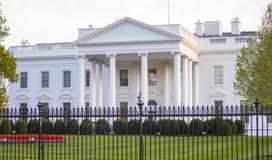 Stwarza ognisko domowe prezydent 7, 2017 - Biały dom w washington dc - washington dc KOLUMBIA, KWIECIEŃ - Zdjęcia Stock