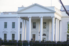 Stwarza ognisko domowe prezydent 7, 2017 - Biały dom w washington dc - washington dc KOLUMBIA, KWIECIEŃ - Zdjęcie Stock