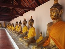 Stwtue di Buddha Immagine Stock Libera da Diritti