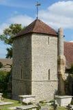 StWulfrans-Kirche Ovingdean, Sussex, Großbritannien Lizenzfreies Stockfoto
