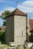 StWulfrans kościół Ovingdean, Sussex, UK Zdjęcie Royalty Free