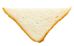 Stycke av bröd Arkivbilder