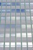 Stycke av den modernistiska fasaden, Arkivbild