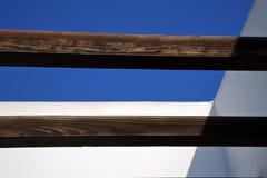 Stycke av det bruna taket i himlen lanzarote Spanien Arkivbild