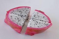 Stycke av drakefrukt Royaltyfria Foton