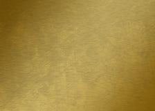 Stycke av guld- guld- textur - guld- metalltextur - Royaltyfri Bild