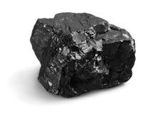 Stycke av kol arkivfoto