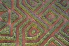 stycke av labyrinten Fotografering för Bildbyråer