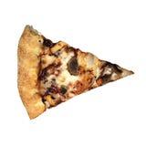 Stycke av pizza med ostkanter Royaltyfri Bild