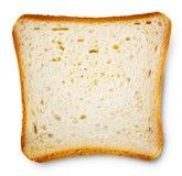 Stycke av rostat brödbröd Fotografering för Bildbyråer