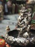 Stycke för metallelefantkonst Royaltyfria Foton