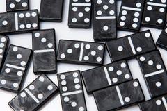 Stycken av dominobricka Royaltyfri Foto