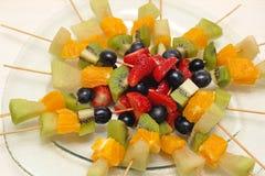 Stycken av ny frukt Royaltyfri Foto