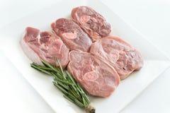 Stycken av rått kalkonkött, huggen av benbiff, portion grillfeststycken Minimalism som lagar mat begrepp royaltyfri bild