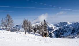 Styczeń 33c krajobrazu Rosji zima ural temperatury Obraz Royalty Free