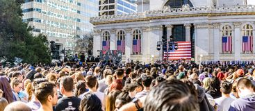 January 27, 2019 Oakland / CA / USA - People attending Kamala Harris for President Campaign Launch Rally