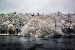 Styczeń 33c krajobrazu Rosji zima ural temperatury Zdjęcie Stock