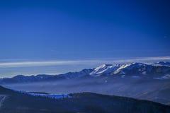 Styczeń 33c krajobrazu Rosji zima ural temperatury Zdjęcia Royalty Free