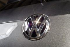 19 Styczeń, 2018 - Vinnitsa, Ukraina Volkswagen Tiguan pres Obrazy Royalty Free