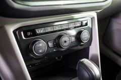 19 Styczeń, 2018 - Vinnitsa, Ukraina Volkswagen Tiguan pres Zdjęcie Royalty Free