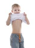 stygg pojke Fotografering för Bildbyråer
