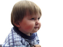 stygg pojke Arkivbild