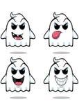 Stygg spöke - uppsättning 1 Royaltyfria Bilder