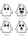Stygg spöke - uppsättning 3 Arkivfoton