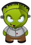 Stygga Frankensteins monster - grina Arkivbild