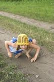 styggt barn Royaltyfri Foto