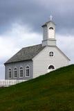 Stykkisholmskirkja, eine der vielen isländischen Kirchen Lizenzfreies Stockbild